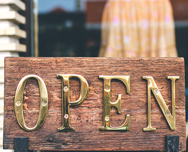 Beautiful Wood Storefront Signs