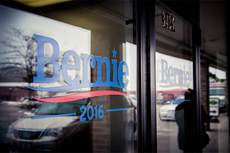 Bernie window graphics in Folsom, CA