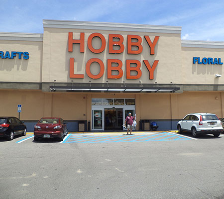 Hobby Lobby Channel Letter Signs for Outdoor Advertisement
