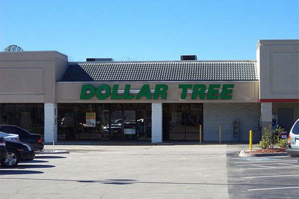 Dollar Tree Channel Letter Signs in Folsom, CA