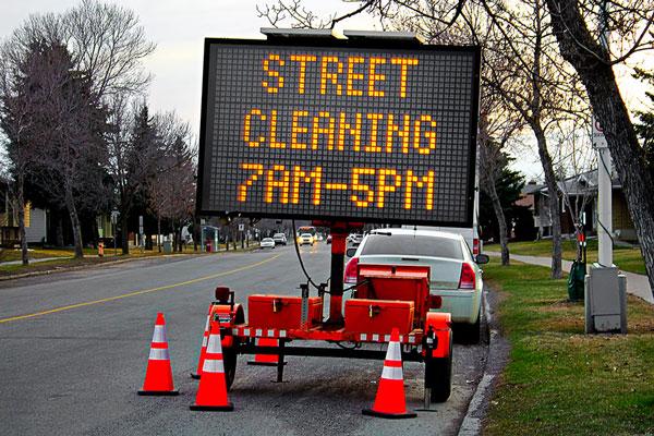 Portable Outdoor Digital Signs in Sacramento, CA