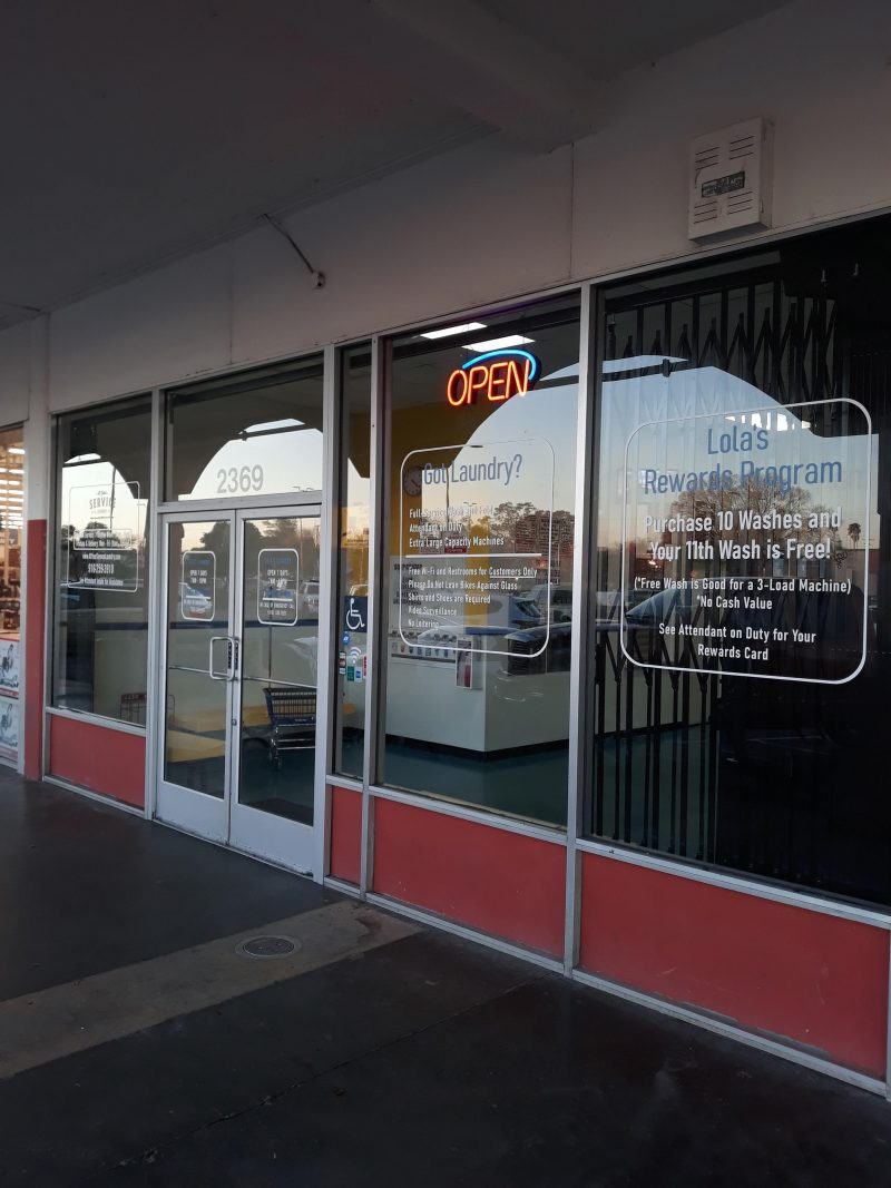 Attractive storefront window graphics in Folsom, CA
