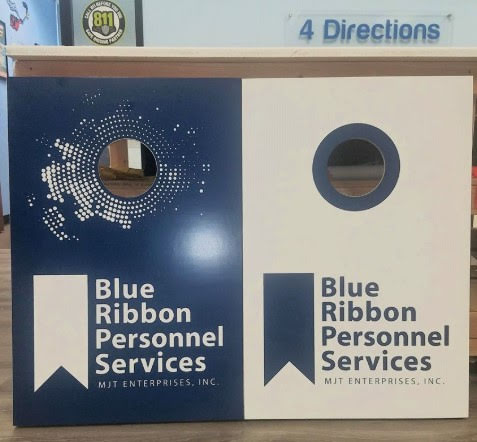Blue Ribbon Business Signage