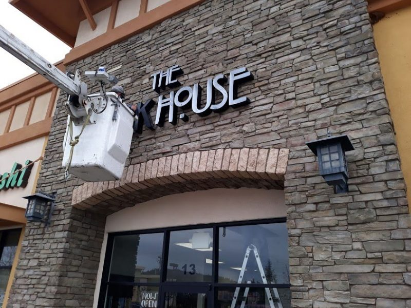 Custom channel letter signs making by 4 Directions Signs & Graphics