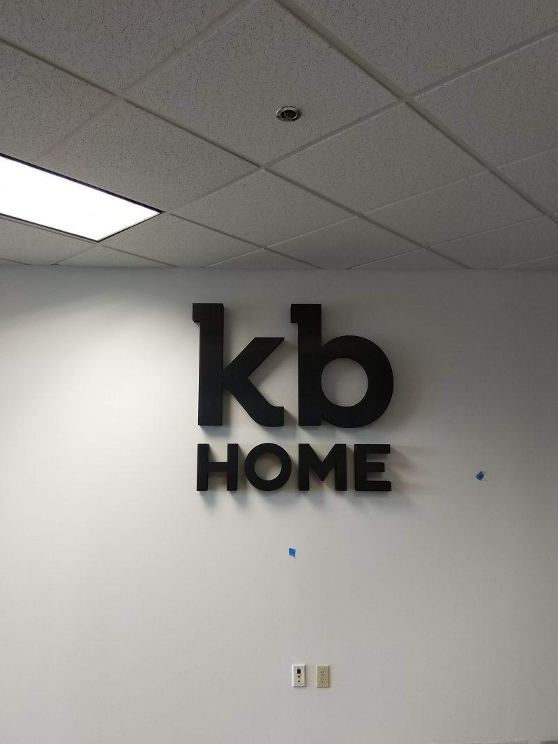 Custom lobby signs for business