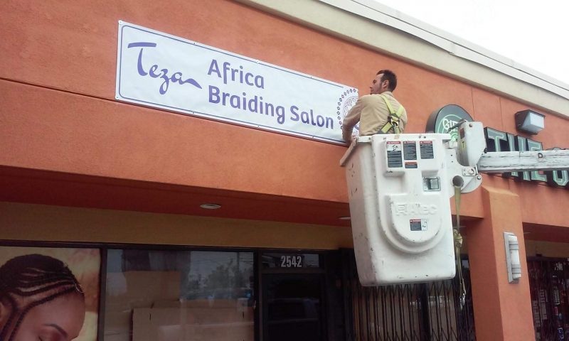 Retail Store Signage Making by 4 Directions Signs & Graphics