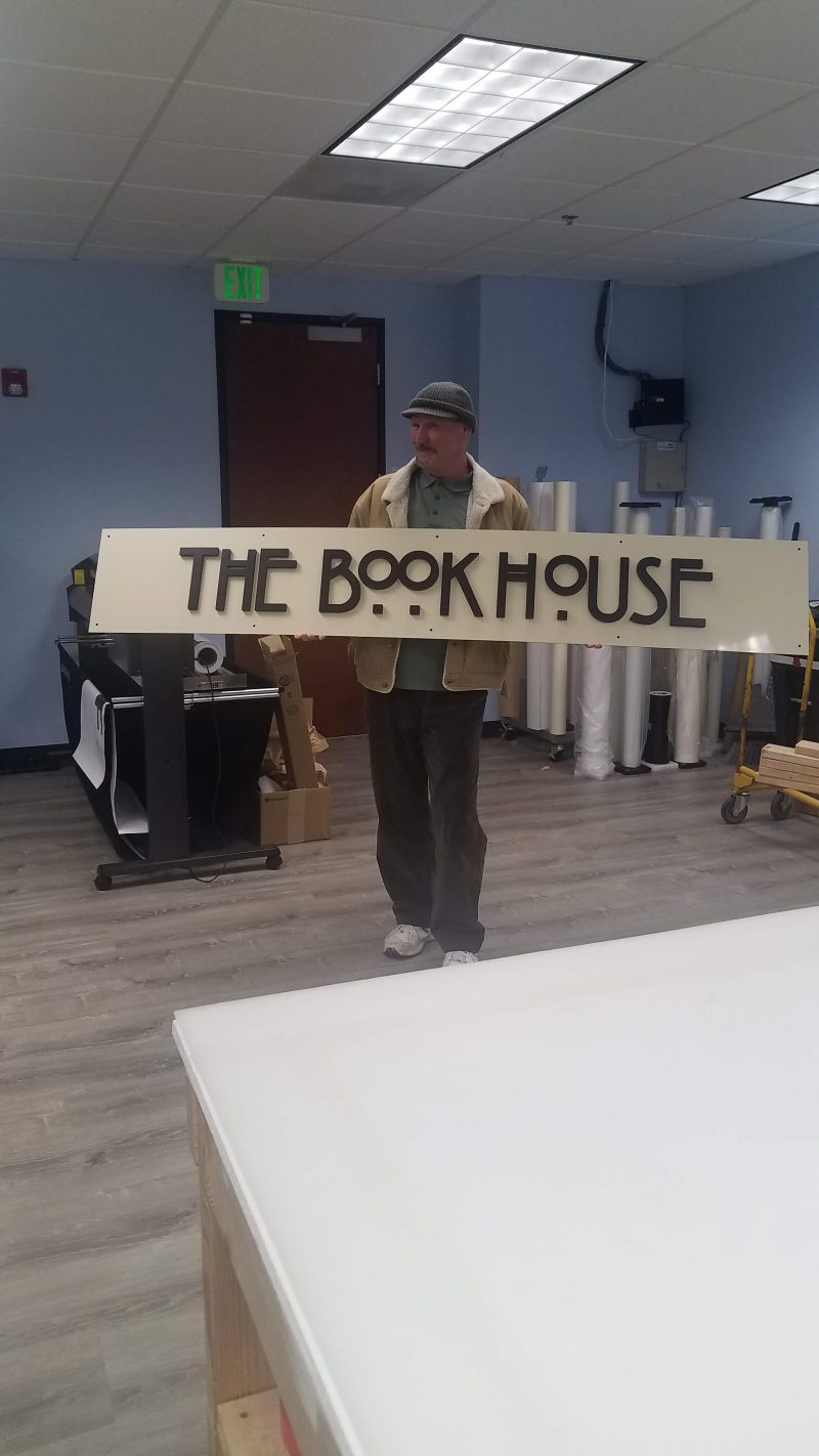 The Book House - Business Signage done by 4 Directions Signs & Graphics