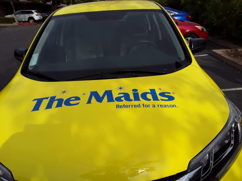 The Maids Vinyl Vehicle Wraps