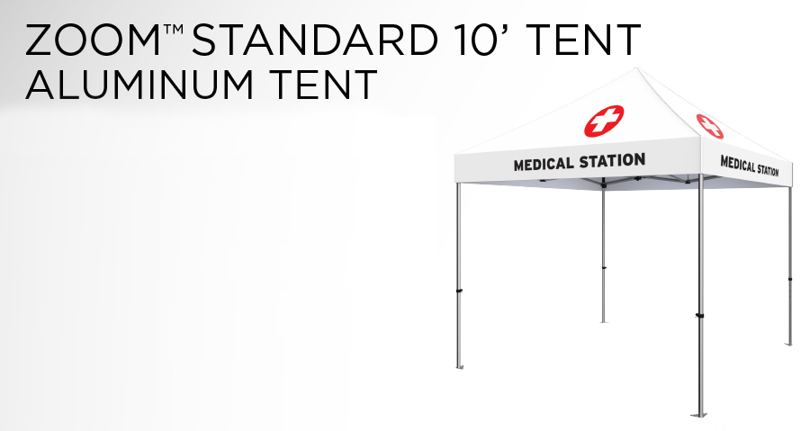 Standard Aluminum Tent for COVID-19