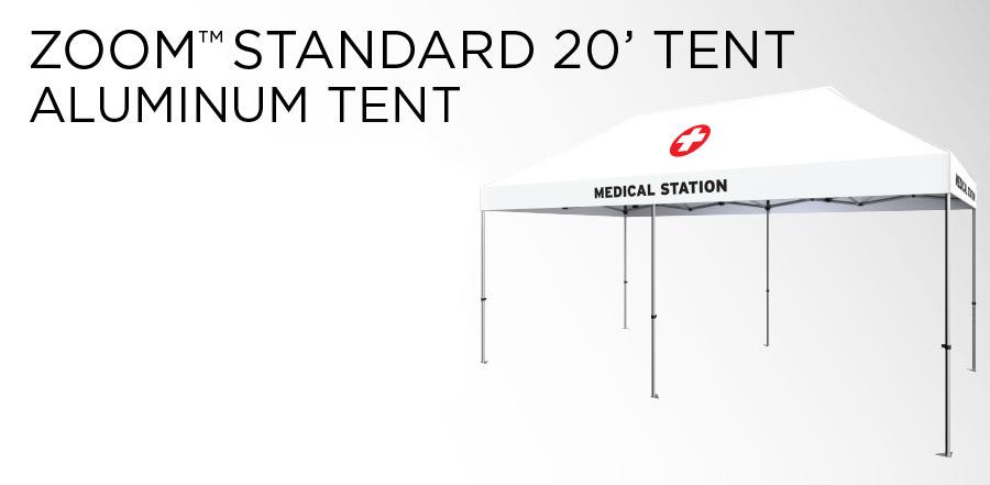 COVID-19 Aluminum Tent