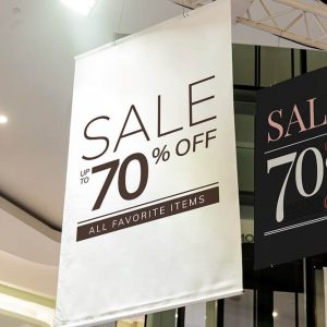 Hanged sale discount vinyl banners in Sacramento, CA