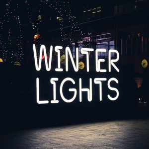 Winter Lights LED Neon Signage