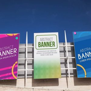 Custom promotional banner ideas for business