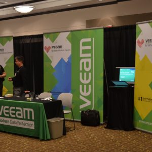 Veeam Commercial signs and banners in Sacramento, CA