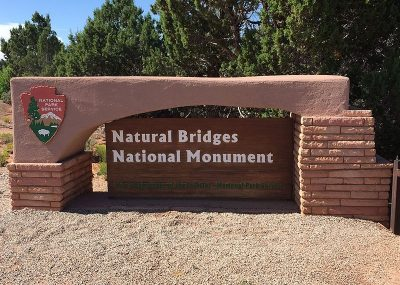 Natural Bridges National Monument Signs