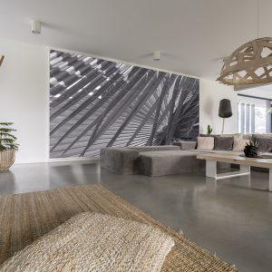 Decorative full wall graphics