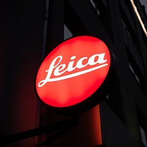 Leica LED exterior signage for business in Sacramento, CA