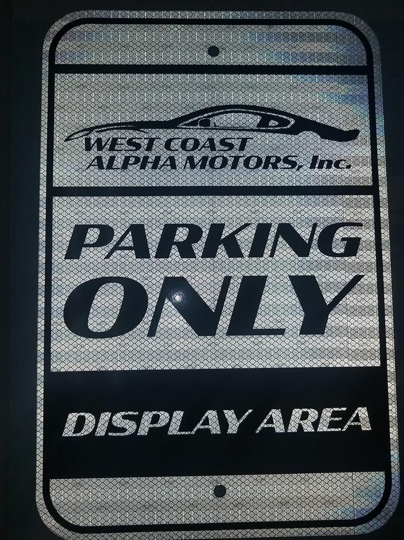 Hire the best Parking Sign Company in Folsom