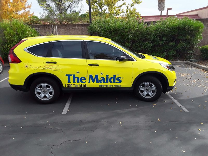 Attractive Vehicle Wrap Services in Folsom