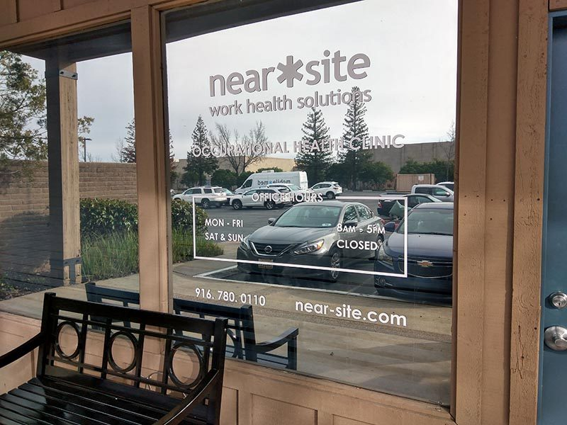Custom Window Graphic Company in Folsom