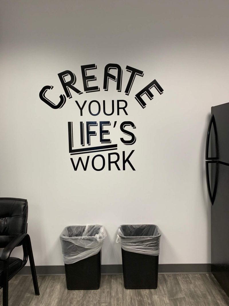 Custom Wall Graphics by 4 Directions Signs & Graphics
