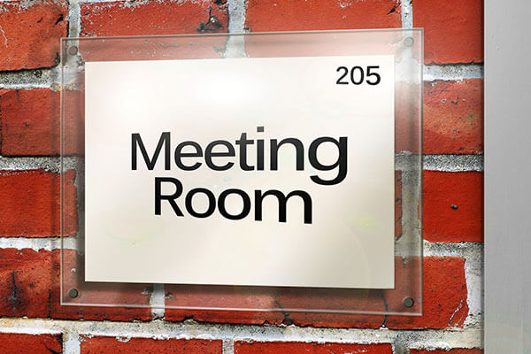 Meeting Room Office Signs