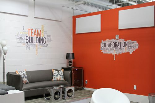 Creative Wall Graphics Solutions for office/business